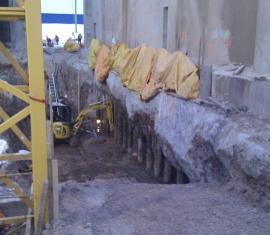 Suivi de déformation, modification de structure – tour de préchauffage de Ciment McInnis, Port-Daniel–Gascons