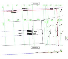 Plan profil de l'aéroport Grande-Rivière Ouest